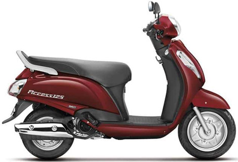 Suzuki Access 125 scooter